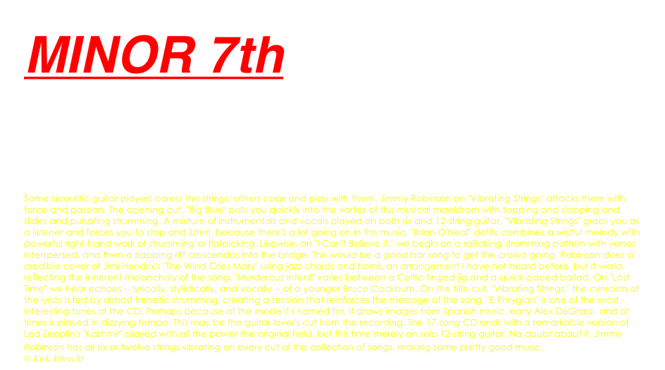 MINOR 7th